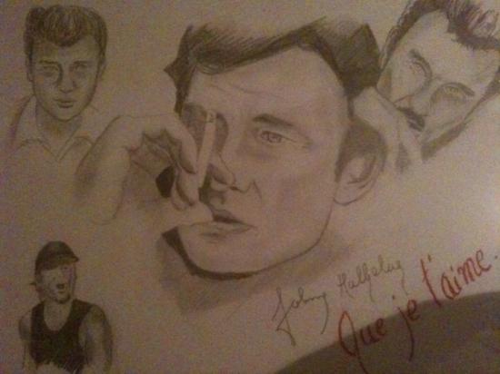 Johnny Hallyday por titoff1970